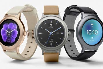 Τα νέα Android Wear από την LG και την Google
