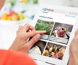 Η ΑΒ Βασιλόπουλος, δίνοντας βαρύτητα στην ποιότητα αλλά και την εξέλιξη σε κάθε τομέα της λειτουργίας της, μεταφέρει την μοναδική ΑΒητική εμπειρία στο διαδίκτυο, μέσα από το ανανεωμένο responsive website της.