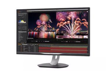 Το 32-ιντσών μοντέλο Philips 328P6AUBREBπροσφέρει εξαιρετική ποιότητα εικόνας και σύνδεση με ένα μόνο καλώδιο για ενισχυμένη παραγωγικότητα και άνεση.