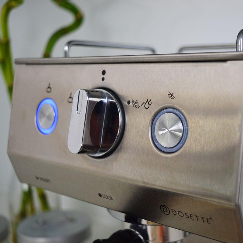 Dosette D2302 μηχανή espresso - Πλήκτρα ελέγχου