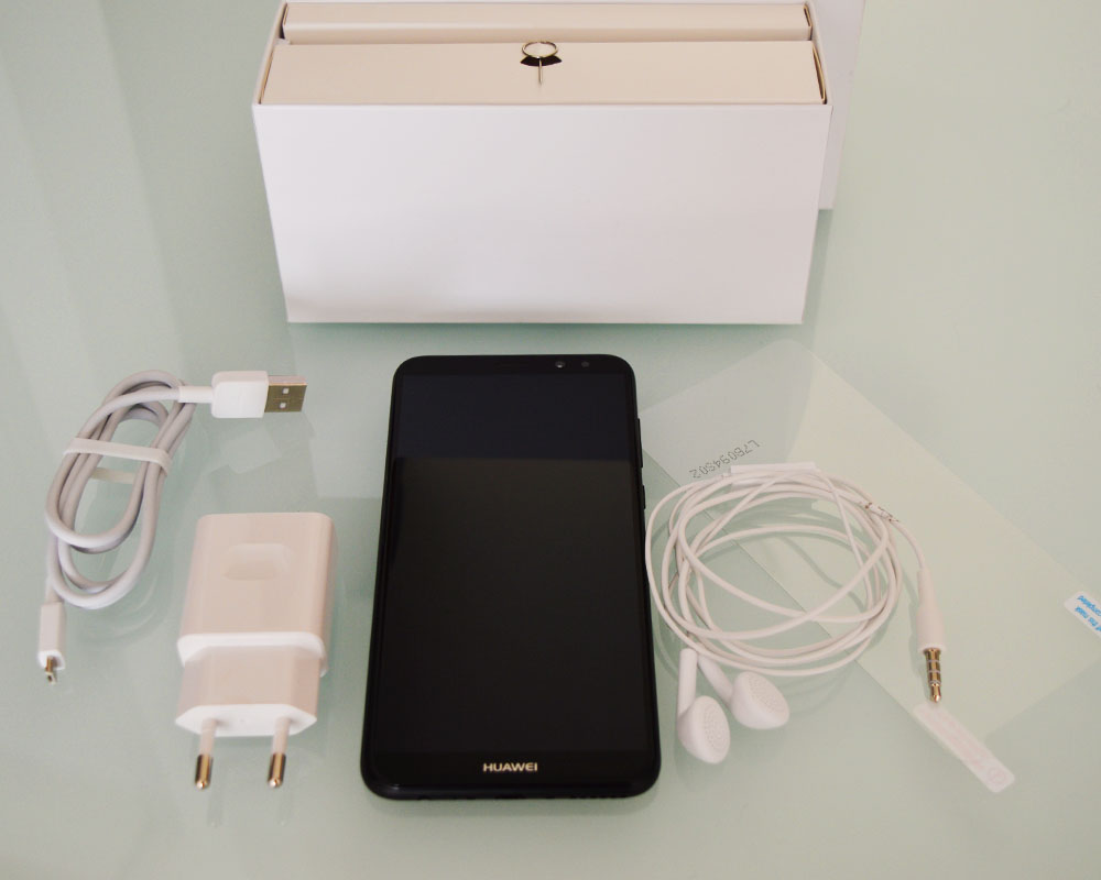 Huawei Mate 10 Lite - Τι περιλαμβάνει η συσκευασία