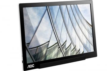 Θέλεις μια οθόνη με σύνδεση USB, που να μη ζυγίζει πολύ και να την παίρνεις μαζί σου; Η AOC I1601FWUX είναι εδώ και θα κάνει την ζωή και την εργασία σου πιο εύκολη!