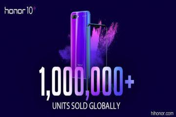 Η Honorανακοίνωσε ότι η νέα «ναυαρχίδα» της, τοHonor10, σημείωσε όγκο πωλήσεων άνω του ενός (1) εκατομμυρίου, μέσα σε ένα μήνα από το λανσάρισμα της συσκευής στην Κίνα και μία εβδομάδα μετά το παγκόσμιο λανσάρισμα στο Λονδίνο.