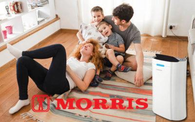 Οι νέοι Morris αφυγραντήρες κυκλοφόρησαν πρόσφατα με την νέα σειρά Compact και αποτελούνται από 3 μοντέλα μοντέλα με διαφορετικές χωρητικότητες.