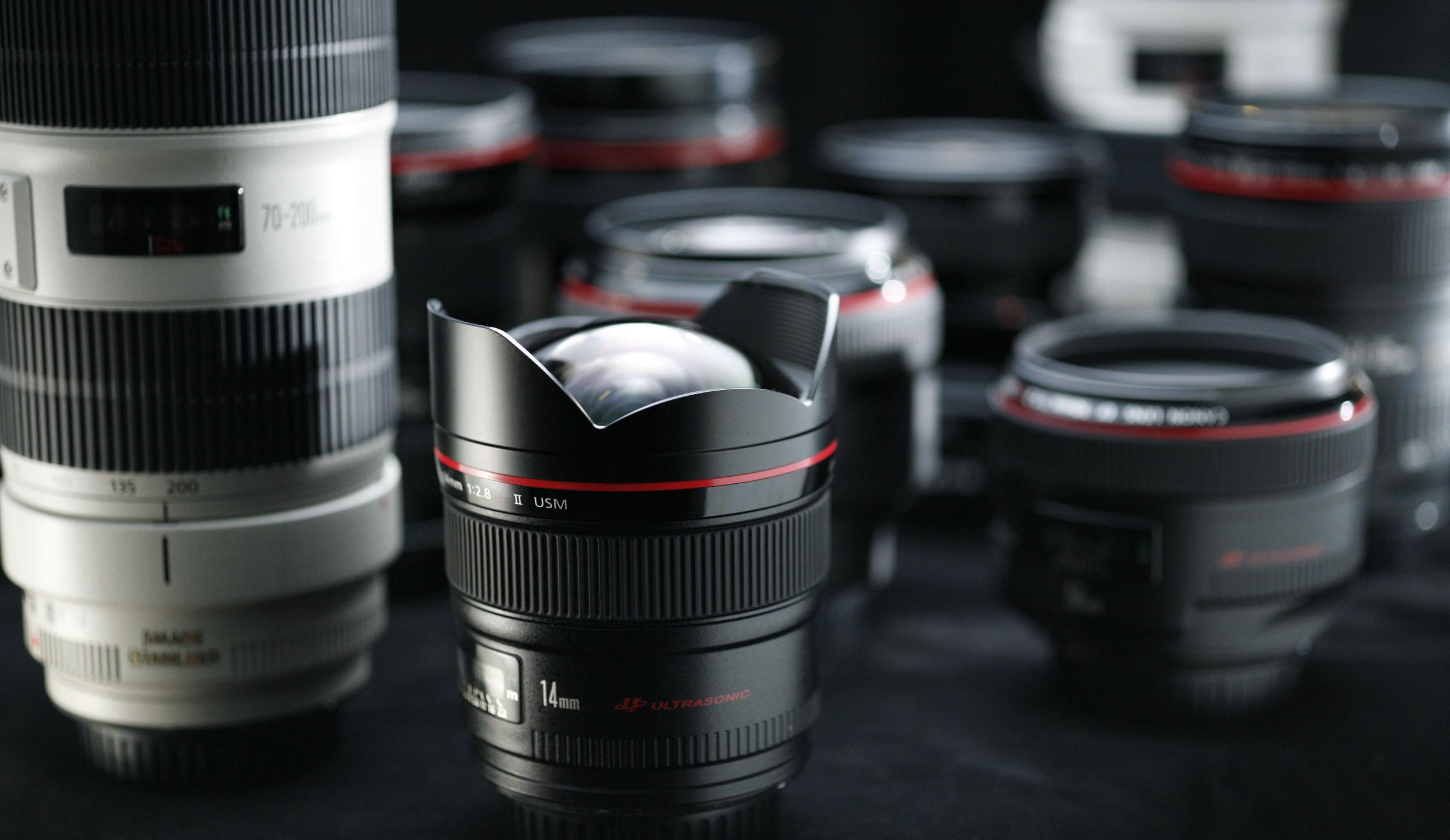 Φωτογραφική Μηχανή DSLR - Φακοί