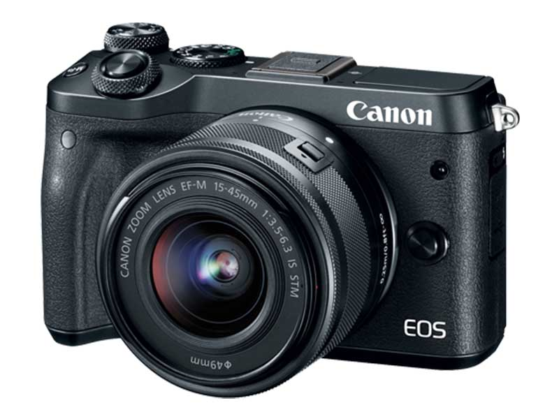Canon EOS M6 - Front