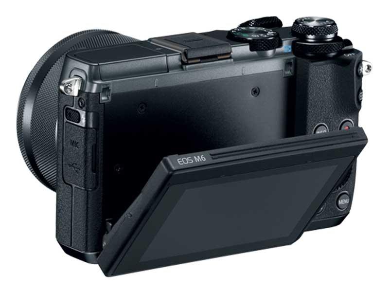 Canon EOS M6 - Screen