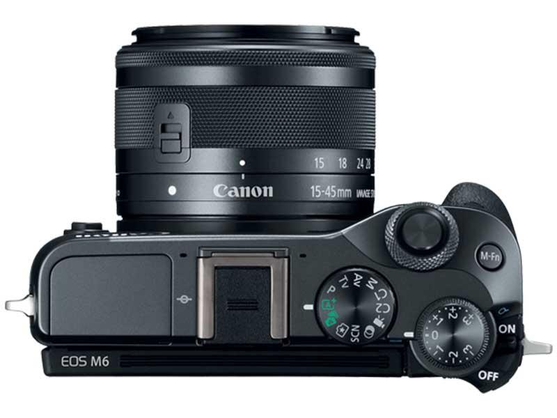 Canon EOS M6 - Top