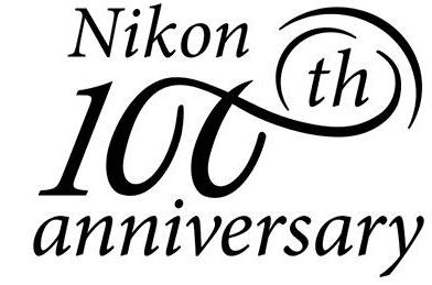 Nikon 100 χρόνια - Το επετειακό λογότυπο