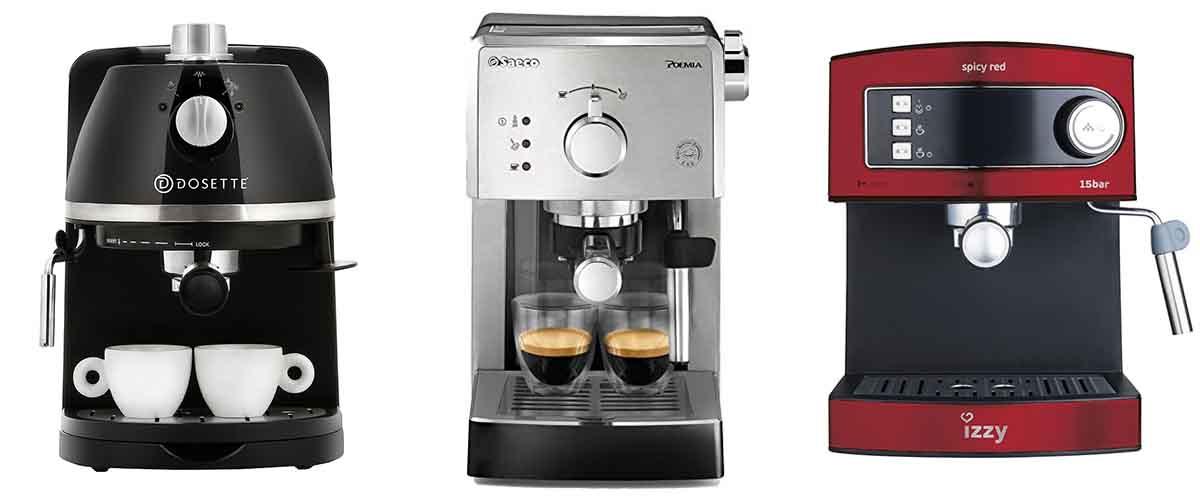 Ημιαυτόματες μηχανές espresso