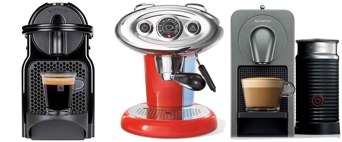 μηχανές espresso με κάψουλα