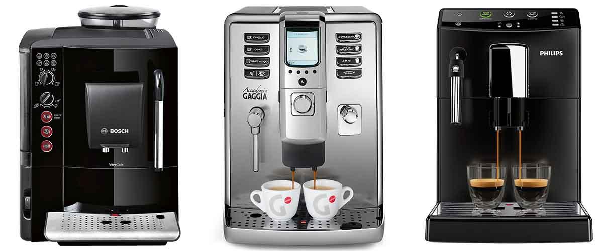 Υπεραυτόματες μηχανές espresso