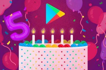 Google Play Store - Γιορτάζει τα 5 του χρόνια με τις κορυφαίες λίστες Top 5
