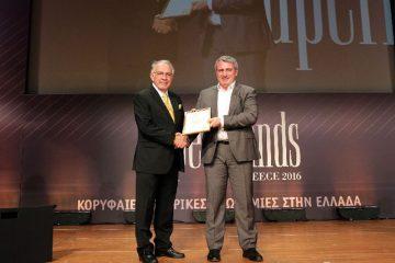 Η Κωτσόβολος διακρίθηκε ως ένα από τα φετινά κορυφαία brands της Ελληνικής αγοράς στο πλαίσιο του παγκόσμιου θεσμού των Superbrands 2016