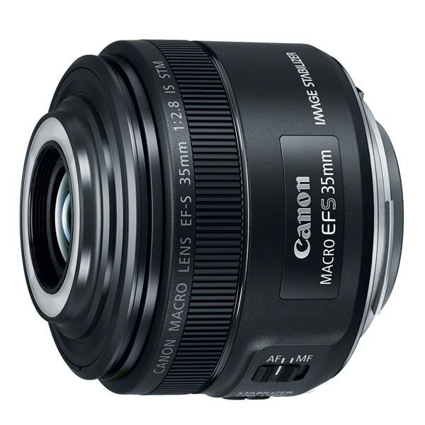 Ο Canon EF-S 35mm f/2.8 Macro IS STM είναι ελαφρύς και συμπαγής