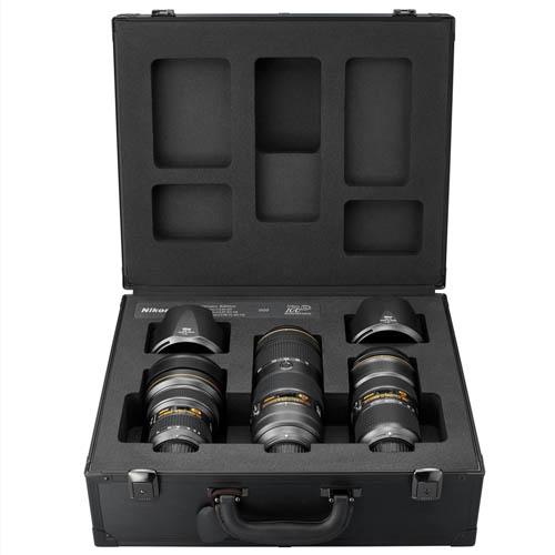 Nikon 100 επέτειος: Επετειακό σετ NIKKOR Triple F2.8 Zoom Lens Set