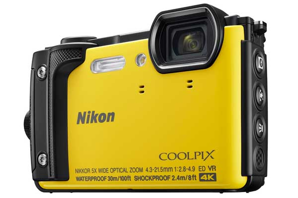 Nikon Coolpix W300—παντός καιρού compact φωτογραφική μηχανή με διαπιστευτήρια βαθιών υδάτων.