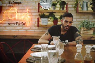 Ο Γιώργος Τσούλης υποδέχεται τους chef του περιοδικού Olive στην εκπομπή «Βάζουμε τον Chef στην πρίζα» παρέα με τις συσκευές Electrolux.