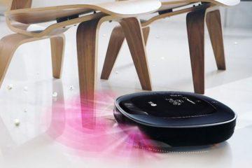 Η ρομποτική ηλεκτρική σκούπα HOM-BOT Turbo+ της LG