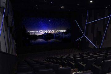 Η Samsung Electronics ανακοίνωσε ότι έχει εγκαταστήσει την πρώτη της Cinema LED οθόνη στο Lotte Cinema World Tower στην Κορέα.