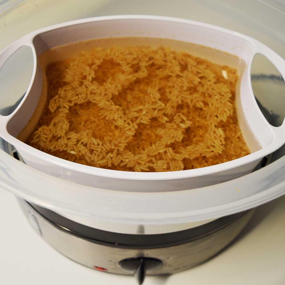 Ατμομάγειρας Russell Hobbs 19270 Cook@Home - Review: Τα δοχείο για το ρύζι