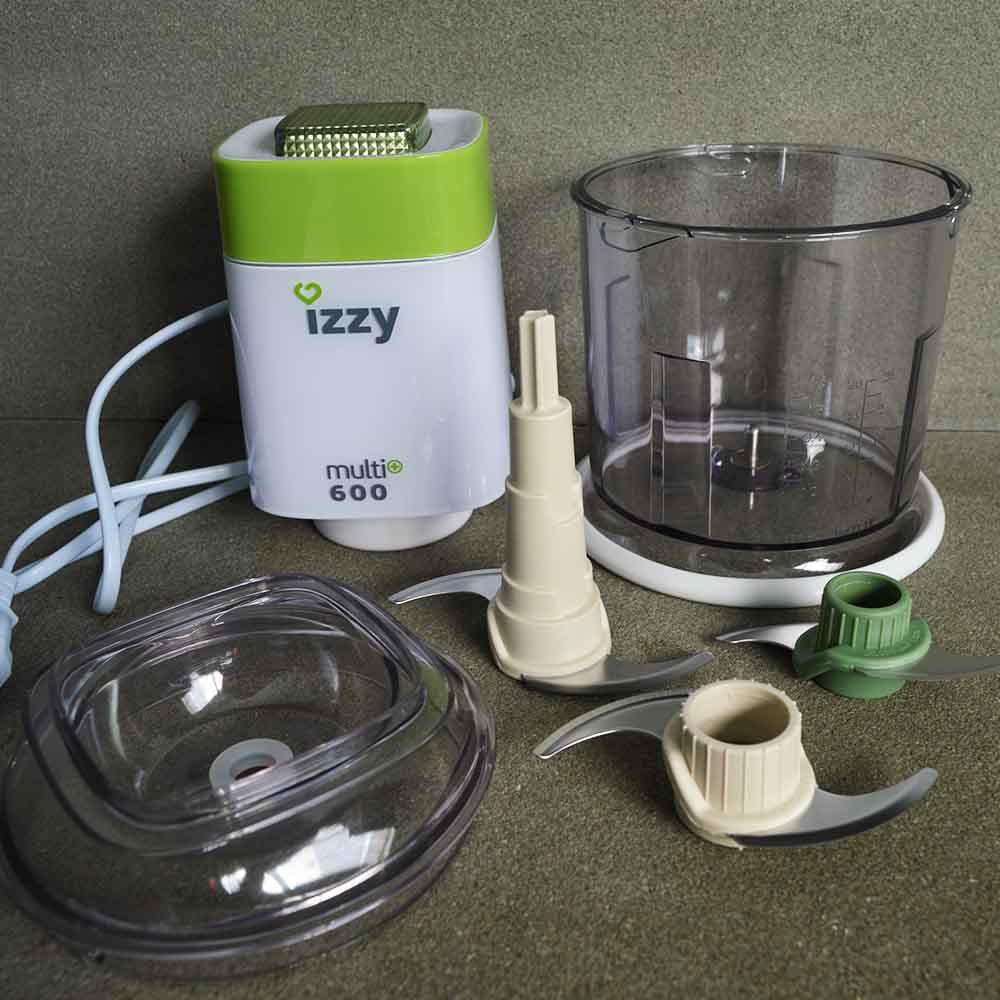 Izzy Multi+ 600: Όλα τα εξαρτήματα της συσκευής