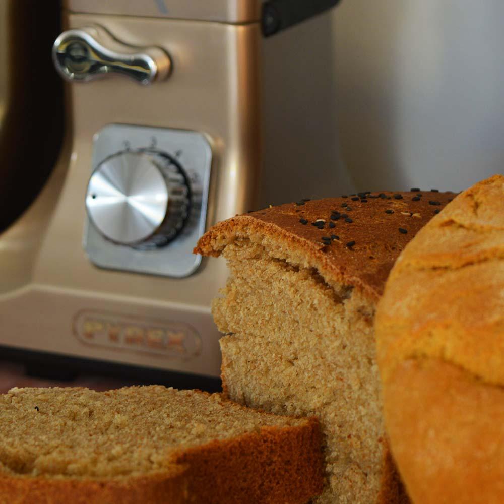 Pyrex SB-1000 Gold - Ψωμί του τοστ και ψωμί με καλαμποκάλευρο