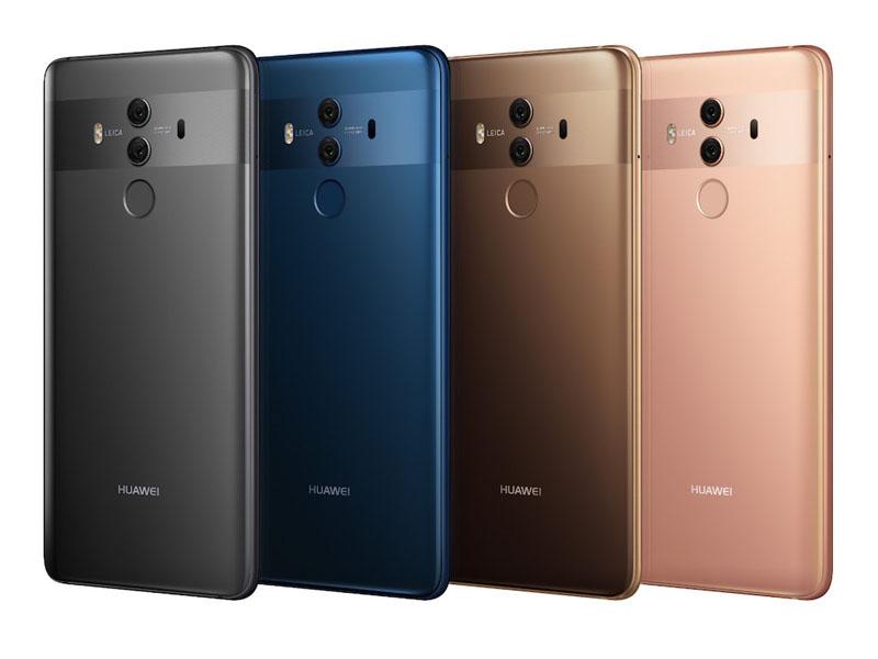 Huawei Mate 10 Pro - Χρώματα
