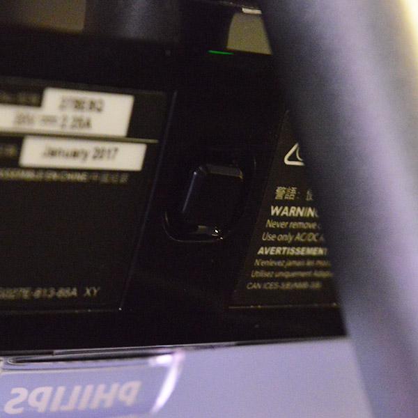 Philips 278E8QJAB: Κουμπί λειτουργιών