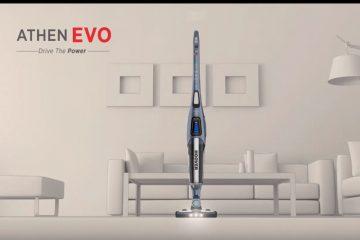 Με μεγάλη ισχύ, δυνατό μοτέρ, εξαιρετικά ευέλικτη χωρίς καλώδια και αυτονομία έως 120 λεπτά, με την Hoover Athen EVO θα καθαρίσεις εύκολα όλο το σπίτι.