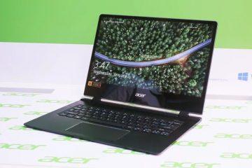 Η Acerλανσάρει το λεπτότεροlaptopστον κόσμο, το νέο Acer Swift7 (SF714-51T), έναWindows10PCπου έχει σχεδιαστεί για εύκολη μεταφορά και υψηλές επιδόσεις.