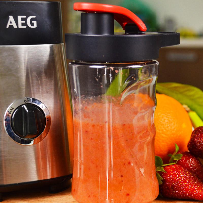 AEG SB2900 Sports Blender - Κόκκινο Smoothie
