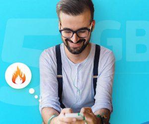 Η Cosmote προσφέρει5GBμόνο με€0,90, όλα ταΣαββατοκύριακακαι τιςΔευτέρεςμέχρι την Μεγάλη Εβδομάδα (2/4/18) μέσω του προγράμματος Giga Now Weekend