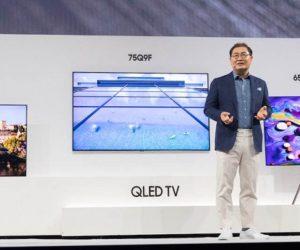 ΗσειράHome Entertainment 2018παρουσιάστηκε στην«First Look»,που διοργανώθηκεχθεςστηνΝέαΥόρκη, με λεπτομέρειες για τα μοντέλα ναυαρχίδες της τηλεόρασης QLED και τη διευρυμένη σειρά τηλεοράσεων UHD, Premium UHD και Ultra-Large Screen.