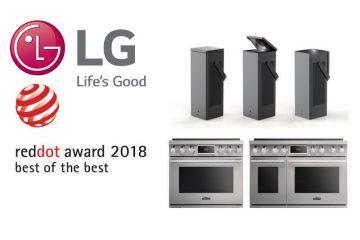 Η LGElectronics(LG)έλαβε 21 τιμητικές διακρίσεις στα φετινάRedDotDesignAwards, ένα από τα τρία κορυφαία βραβεία σχεδίασης παγκοσμίως μαζί με ταiFDesignAwardsκαι ταIDEA(InternationalDesignExcellenceAwards).