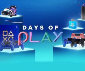 Η Sony Interactive Entertainment (SIE) ανακοίνωσε ότι οι Days of Playεπιστρέφουν και το 2018, προσφέροντας στους φίλους τουPlayStationμειωμένες ενδεικτικές λιανικές τιμές σεhardware,software, περιφερειακά και υπηρεσίες.
