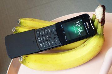 Το εμβληματικό τηλέφωνο των 90s, Nokia 8110 επανακυκλοφορεί ανανεωμένο σε δύο χρώματα: κίτρινο και σε αποκλειστικότητα μαύρο στα καταστήματα ΓΕΡΜΑΝΟΣ.