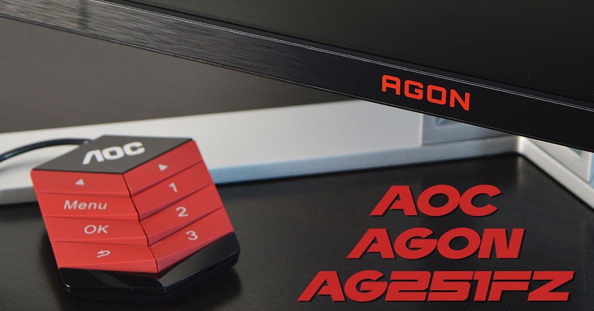 Gaming Οθόνη AOC AGON AG251FZ