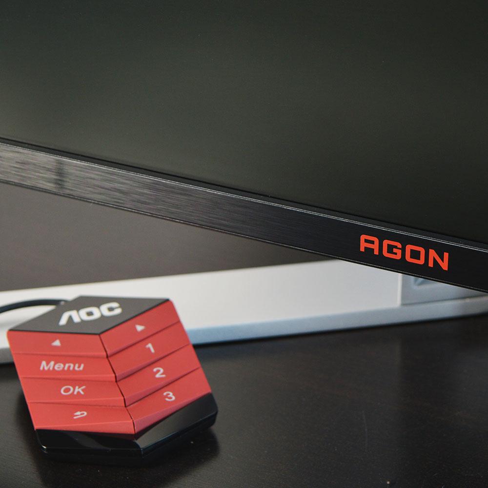 AOC AGON AGFZ Review - Χειριστήριο
