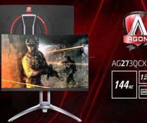 Η AOC ανακοινώνει με μεγάλη υπερηφάνεια την άφιξη των κυρτών οθονών AG273QCG και AG273QCX, για την νέα γενιά της σειρά, την AGON 3.