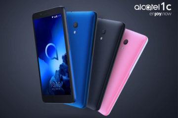 Η ολοκαίνουργια σειρά Smartphones της εταιρίας, Alcatel 1 Series. Τα Alcatel 1X (2019) και Alcatel 1C (2019) συνεχίζουν το εταιρικό όραμα της εταιρίας.