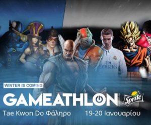Το Gameathlon Winter powered by Sprite επιστρέφει 19 & 20 Ιανουαρίου 2019, με τη χειμερινή του έκδοση και επίσημη κονσόλα διοργάνωσης, το PlayStationⓇ4!