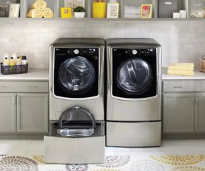 Το μεγάλης χωρητικότητας πλυντήριο-στεγνωτήριο TWINWash τηςLG Electronicsβραβευμένο με 2019 CES Innovation Award θα παρουσιαστεί στο Λας Βέγκας.