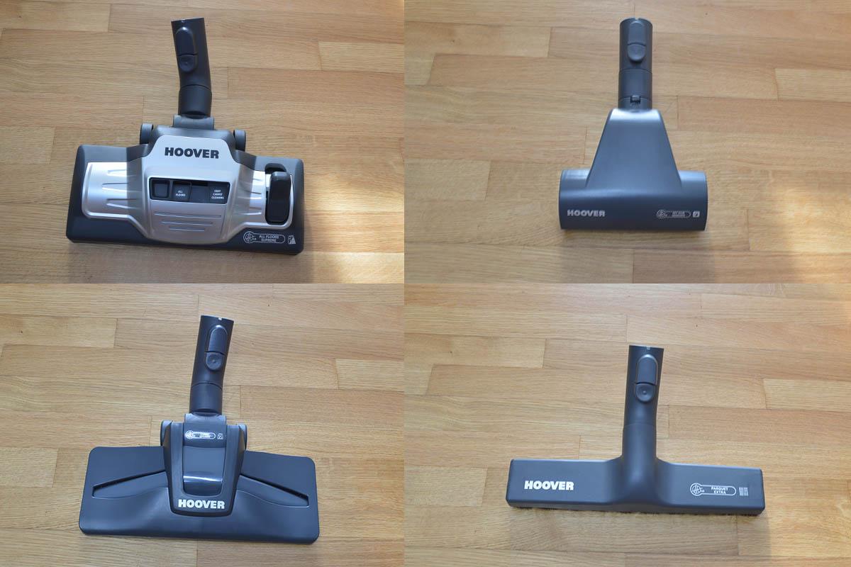 Ηλεκτρική Σκούπα Hoover Telios Extra TX60PET Review - Πέλματα