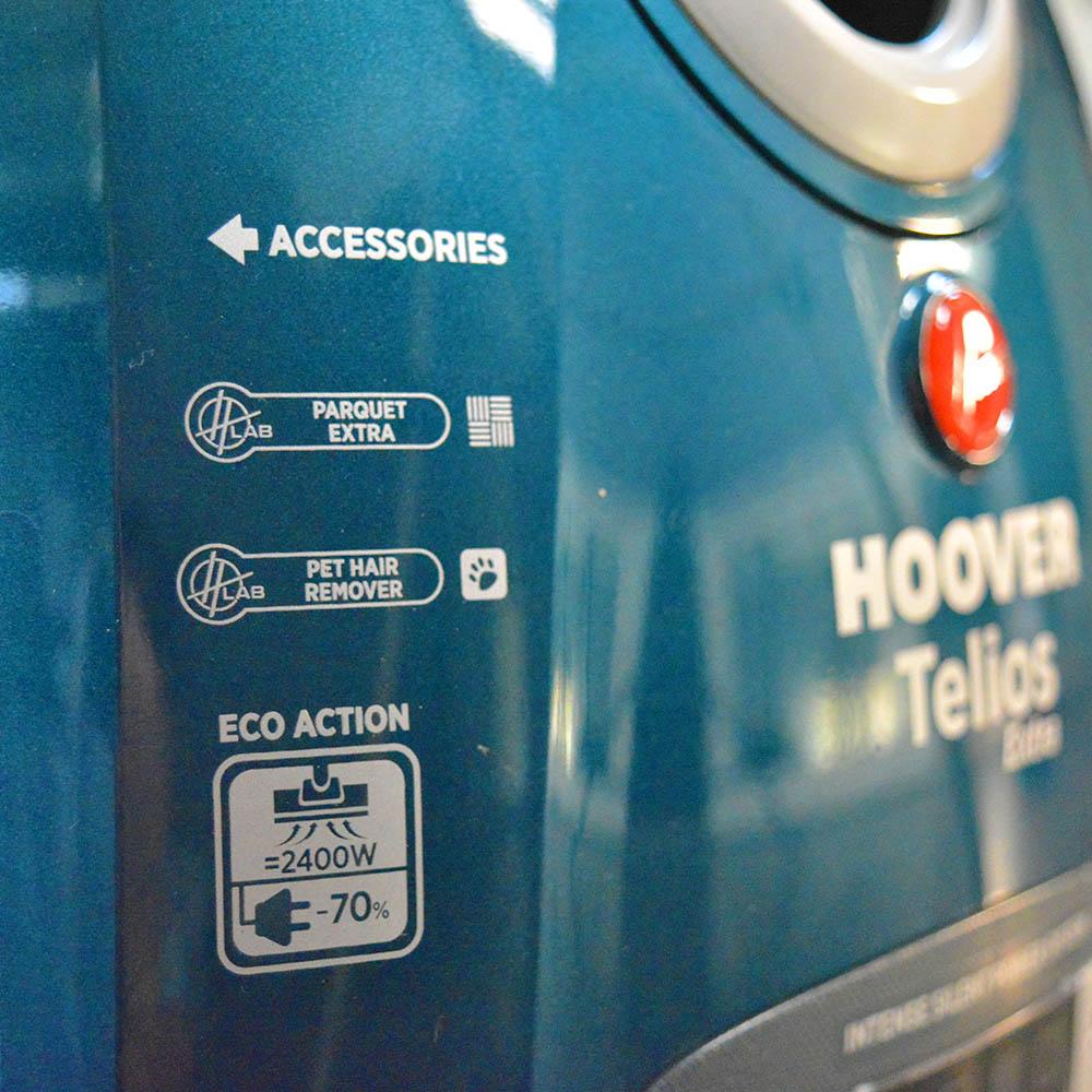 Ηλεκτρική Σκούπα Hoover Telios Extra TX60PET Review - Χαρακτηριστικά