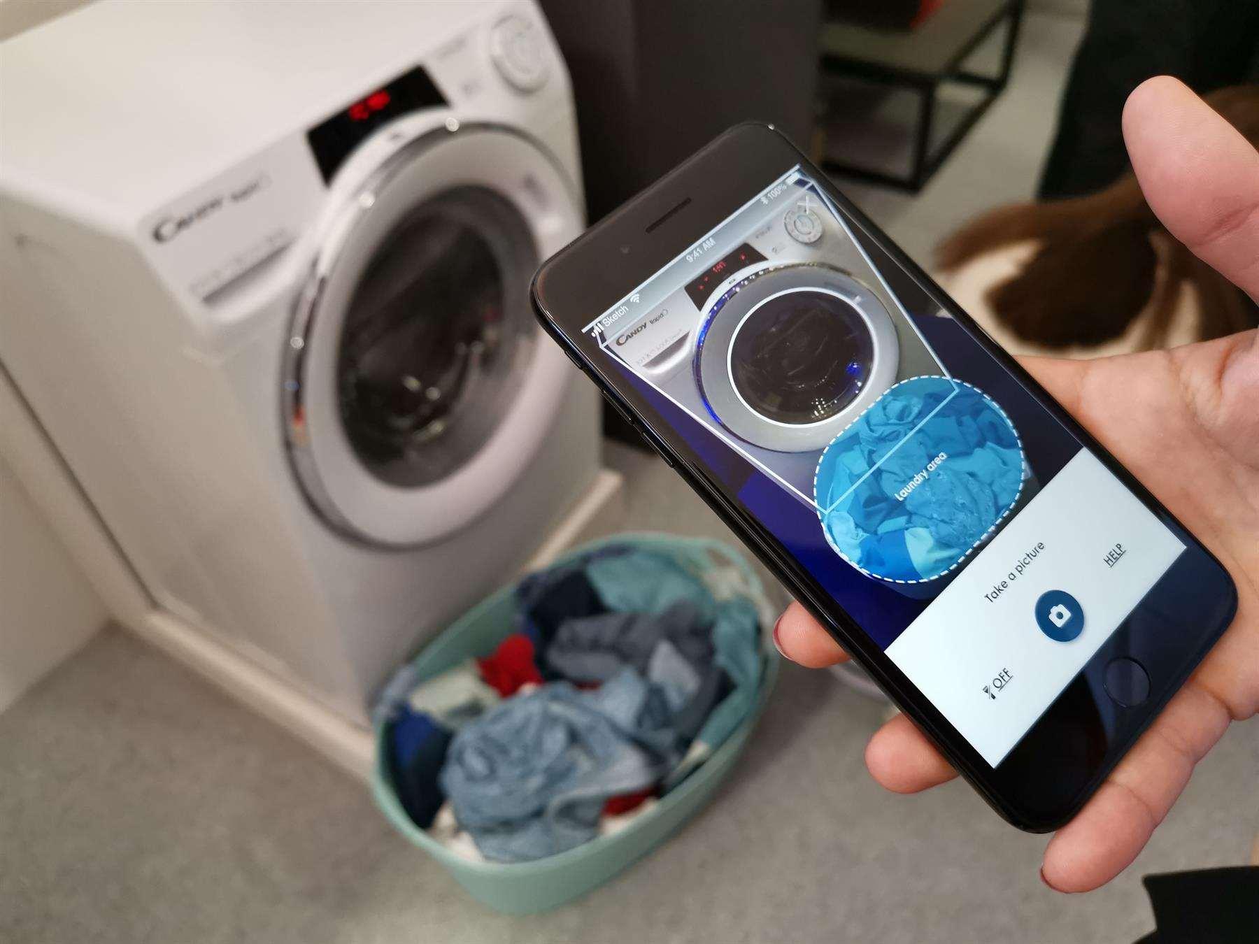 Πλυντήριο Ρούχων Candy Rapid'Ò - Λειτουργία Snap & Wash