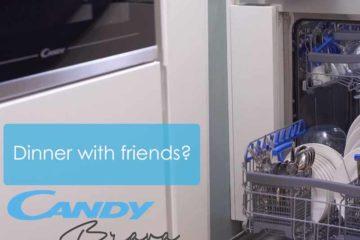 Candy Brava: Το πλυντήριο πιάτων που κερδίζει παντού: σε χρόνο, ρεύμα, νερό και ηρεμία!